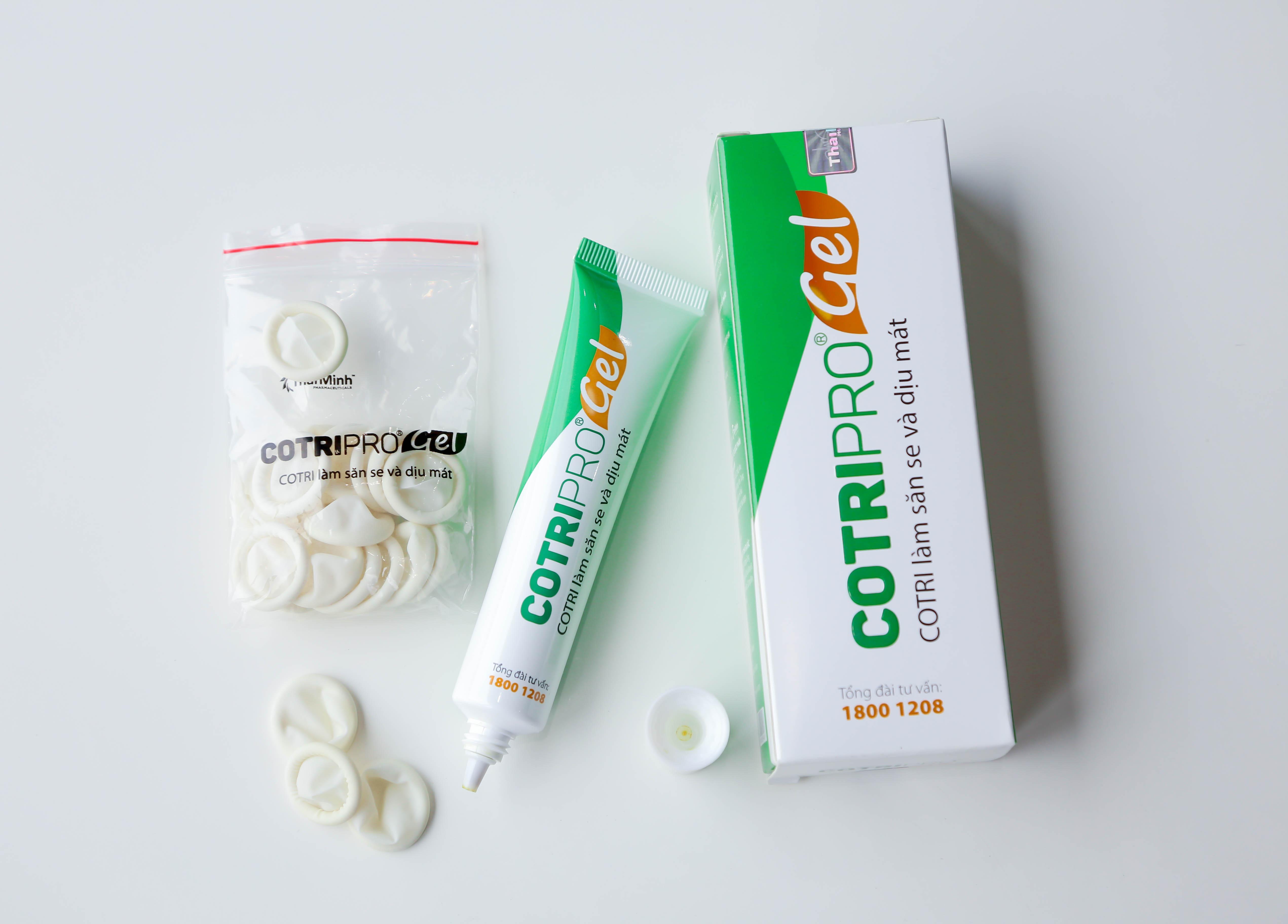 Cotripro - Gel bôi Trĩ thảo dược đầu tiên của Việt Nam 1