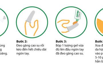 Cách dùng Cotripro Gel hiệu quả
