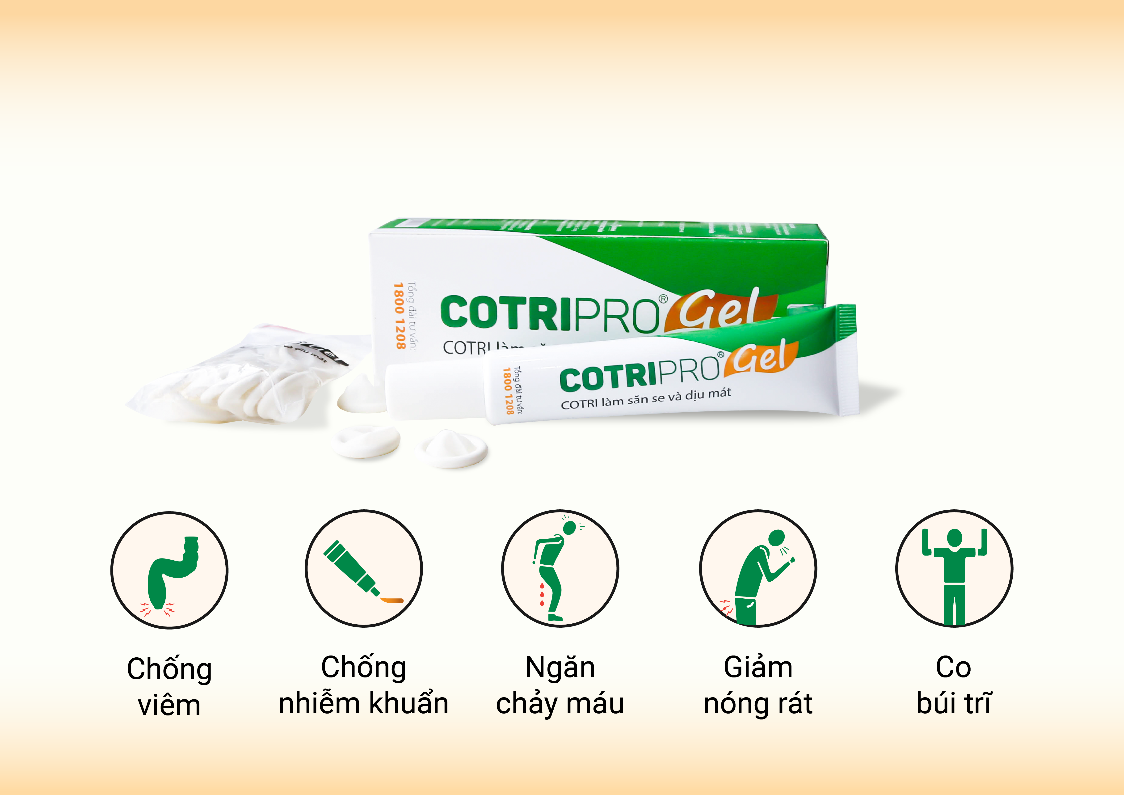 Cotripro Gel – Gel bôi Trĩ chính hãng đầu tiên tại Việt Nam 1