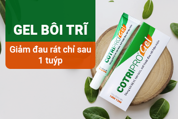 Cotripro Gel – Hiệu quả chỉ sau 1 tuýp