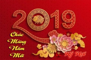 Thư chúc tết và thông báo lịch nghỉ tết Kỷ hợi 2019