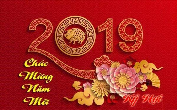 Thư chúc tết và thông báo lịch nghỉ tết Kỷ hợi 2019 1